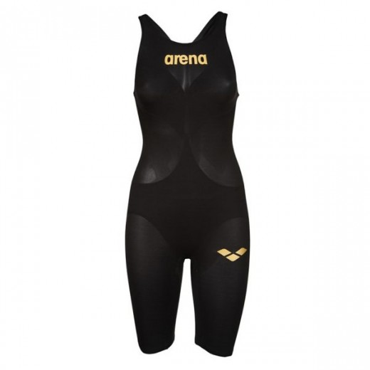 Arena Powerskin Carbon Air 2 Black/Gold Dame-07