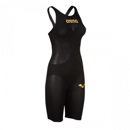 Arena Powerskin Carbon Air 2 Black/Gold Dame-37