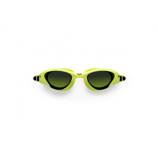 Arena The One Svømmebrille Smoke linse Lime-05