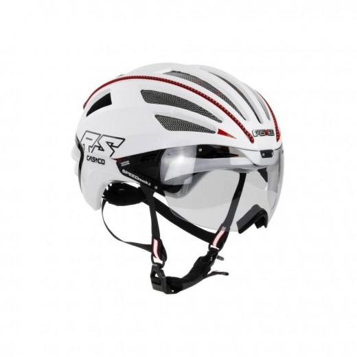 SPEEDairo 2 RS Hvid ( incl.Vautron Visor ) Cykelhjelm.-35