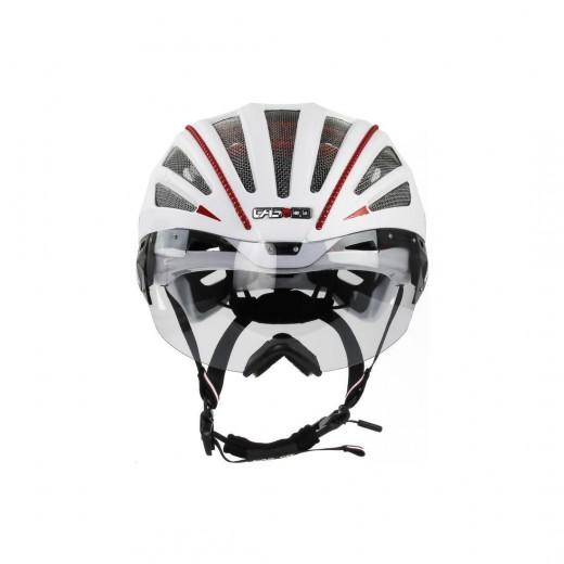 SPEEDairo 2 RS Hvid ( incl.Vautron Visor ) Cykelhjelm.-05