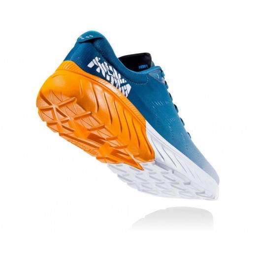 Hoka Mach 2 Corsair Blue/Bright Marigold Herre-01