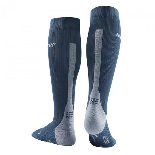 CEP Run Socks 3.0 Kompressionsstrømpe Dame BLUE / GREY-01