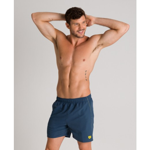 Arena Fundamentals Boxer svømmeshorts SharkBlue Yellowstar-31
