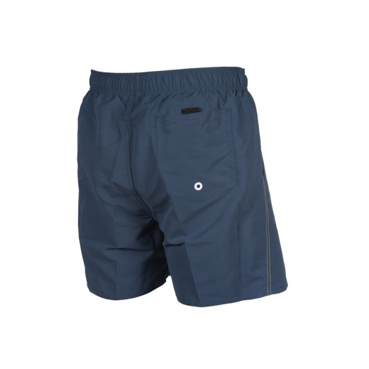 Arena Fundamentals Boxer svømmeshorts SharkBlue Yellowstar-01
