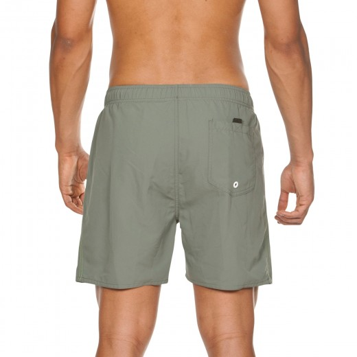 Arena Fundamentals Boxer svømmeshorts Army-Shiny grøn-01
