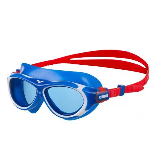 Arena OBLÈ Junior Svømmebrille Blå glas Blå/Hvid-31
