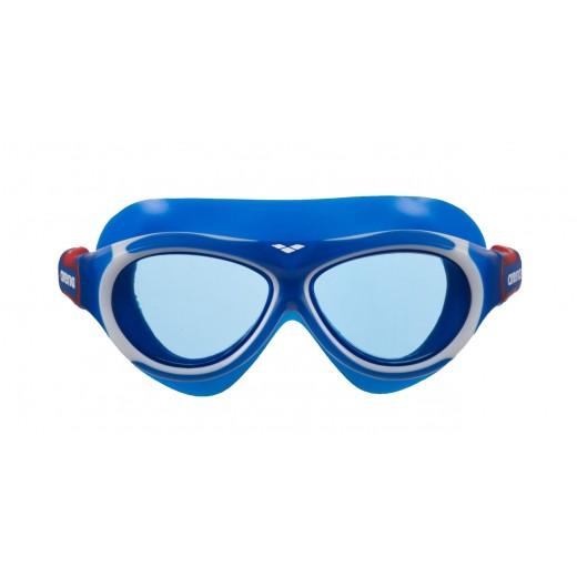 Arena OBLÈ Junior Svømmebrille Blå glas Blå/Hvid-01
