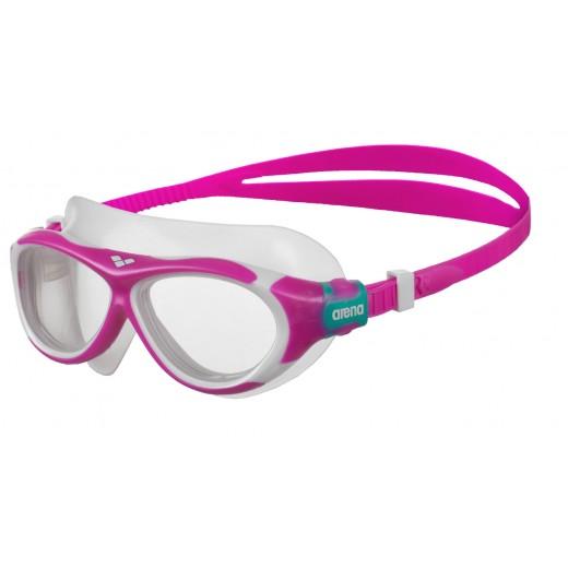 Arena OBLÉ Junior Svømmebrille Klar glas Pink-31
