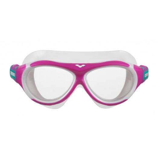 Arena OBLÉ Junior Svømmebrille Klar glas Pink-01