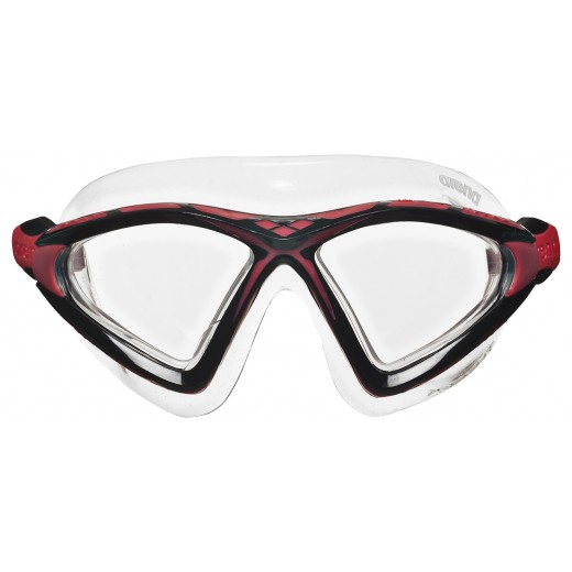 ArenaXSight2OpenwaterSvmmebrilleKlarlinseSortRd-01