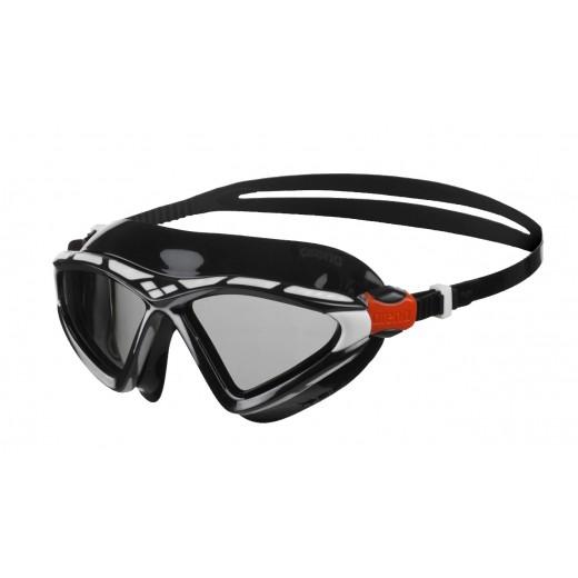 ArenaXSight2OpenwaterSvmmebrilleSmokelinseSortHvid-31
