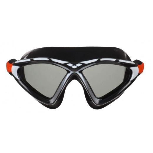 ArenaXSight2OpenwaterSvmmebrilleSmokelinseSortHvid-01
