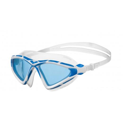 Arena X-Sight 2 Openwater svømmebrille Blå linse Hvid/Blå-31