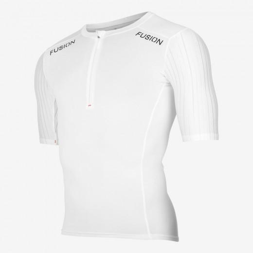Fusion SLi Tri Top Short Sleev Hvid/Hvid 2019 NYHED-31