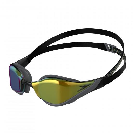 Speedo Fastskin Pure Focus Mirror Svømmebrille Black/Cool Grey/Blue/Gold-31