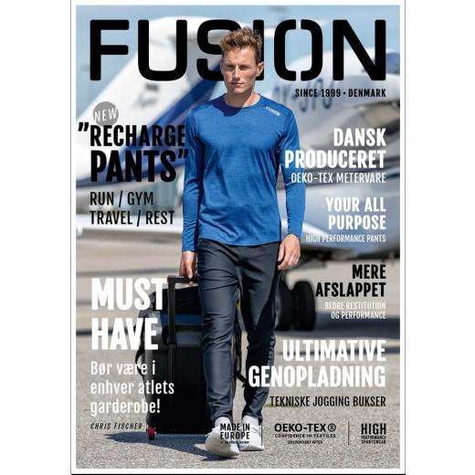 Fusion Herre C3+ Re Charge bukser Slapafbukser Grøn-01