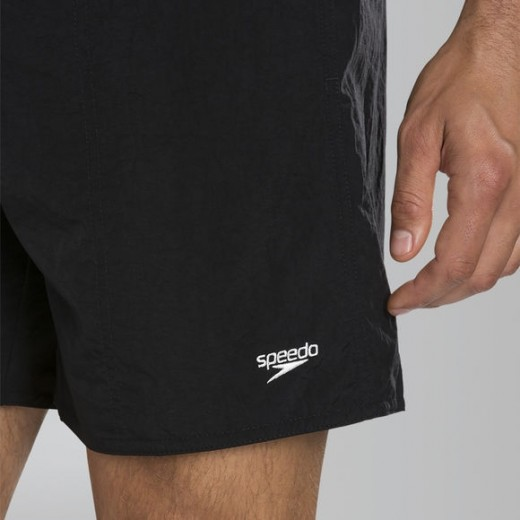 SPEEDO Solid Leisure Swim Shorts Black-06