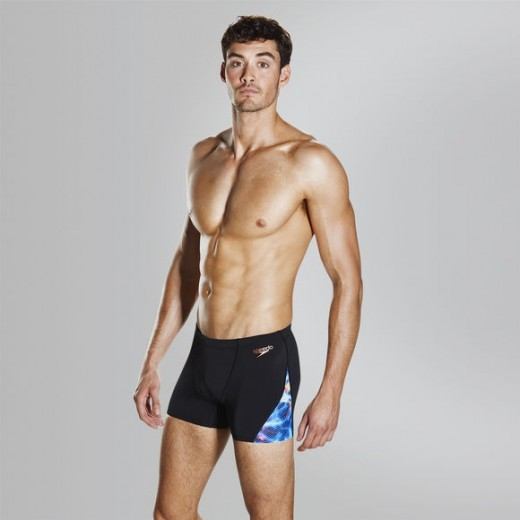 Speedo Storm Wave Allover Digital V Panel Aquashort Kort. Herre.-01