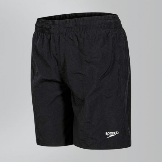 SPEEDO Solid Leisure Swim Shorts Barn/Ung Black-31