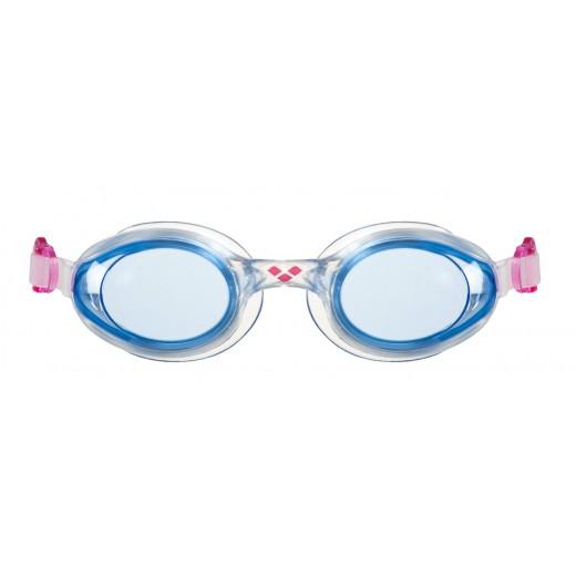 Arena Sprint Svømmebrille Blå linse Klar/Pink/Blå-01