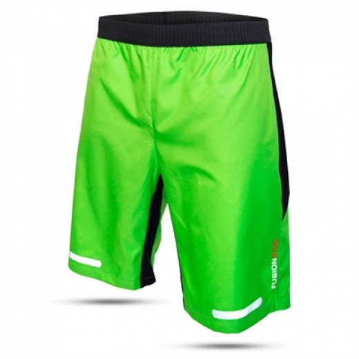 S100 RUN GRØN SPRAY SHORTS. TILBUD-31