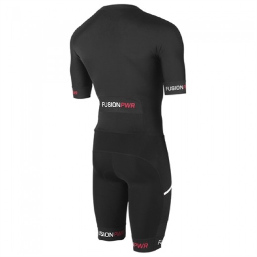 Fusion SPEED SUIT Black/Black m/ryglomme.-01