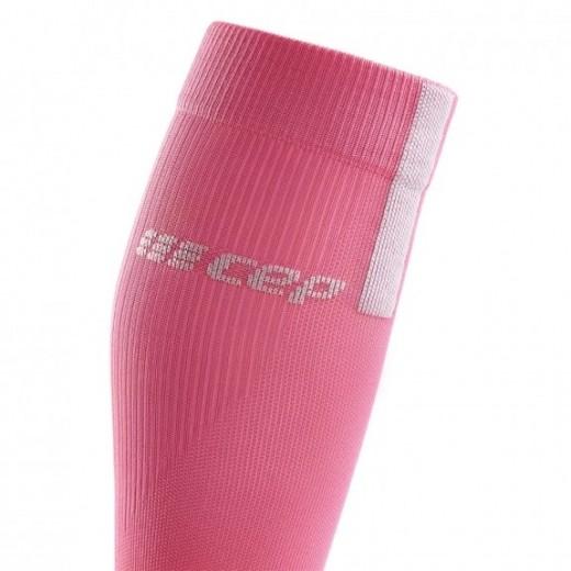 CEP Run Socks 3.0 Kompressions strømpe Dame Rose/Light Gray-01