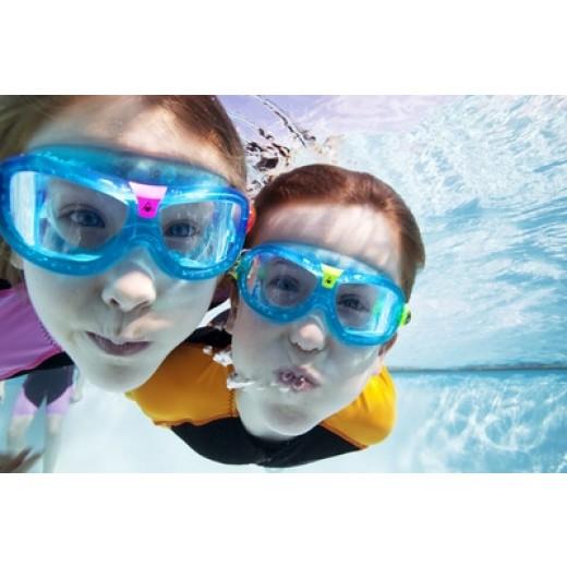 359090afc06 ... Aqua Sphere Vista Junior Svømmebrille Klar Lens Blue/orange-01 ...