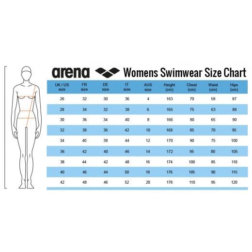 Arena Solid Swim Pro Dame Sort-01
