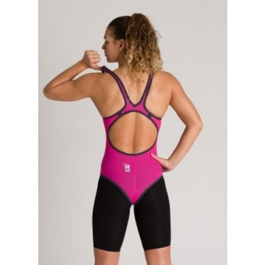 Arena Powerskin Carbon DUO TOP Pink Peacock Dame-01