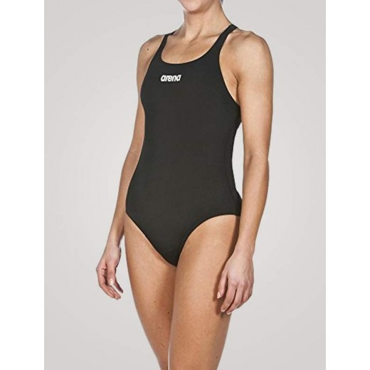 Arena Solid Swim Pro Dame Sort-31