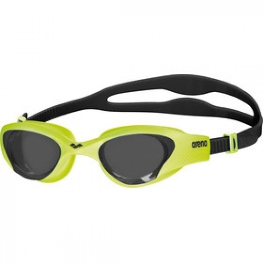 Arena The One Svømmebrille Smoke linse Lime-35