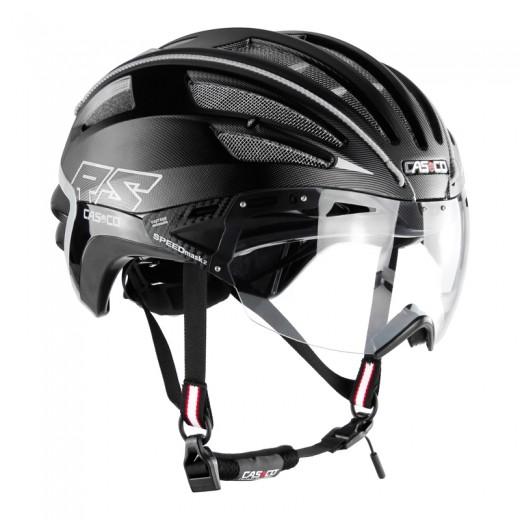 SPEEDairo 2 RS black ( incl.Vautron Visor ) Cykelhjelm.-33
