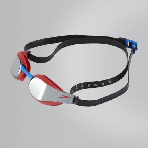 Speedo Fastskin Elite Mirror Red/Silver-31