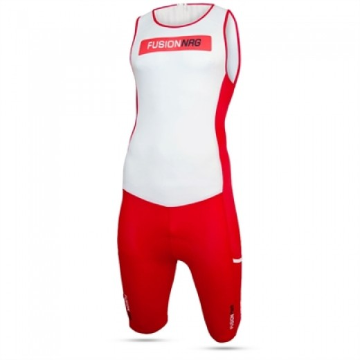 Fusion Multisport Rear Zip Suit TILBUD-31