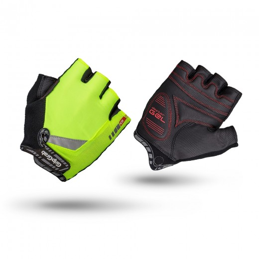 GripGrap ProGel Hi-Vis Polstret Kortfingret Handske-32