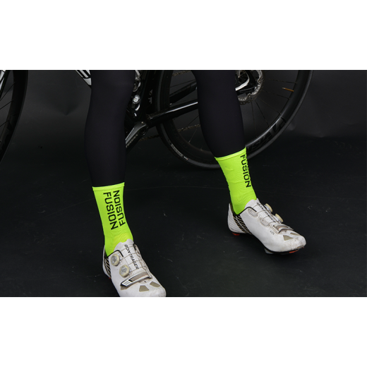 Fusion PWR Cycle Sock MW Neon-02