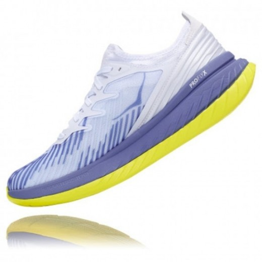 Hoka One One Carbon X-SPE White/BlueIce-01