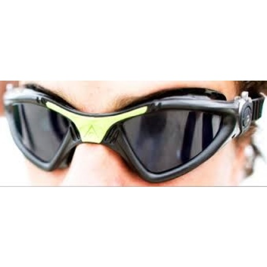 Aqua Sphere Kayenne Svømmebrille sort/grøn-01