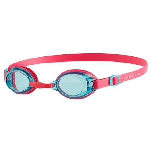 Speedo Jet Junior Svømmebrille, Pink/Blue-01