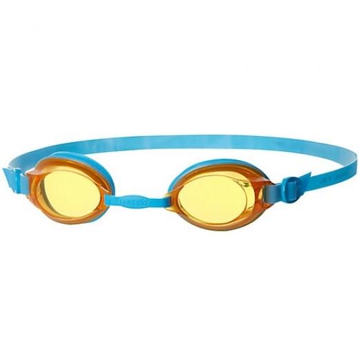 Speedo Jet Junior Svømmebrille, Blue/Orange-31