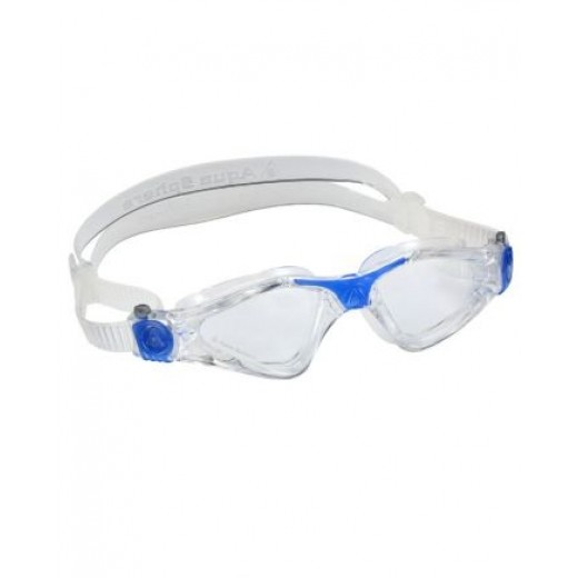 Aqua Sphere KAYENNE svømmebrille transparent/blue SMALL FIT Klar lens.-31