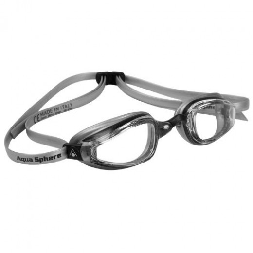 Michael Phelps K180+ Clear Lens Black/Silver-31