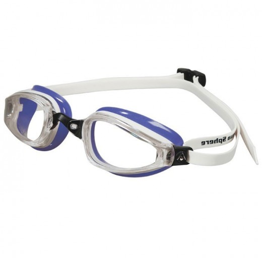 Michael Phelps K180 Clear Lens Purple/white LADIES-31