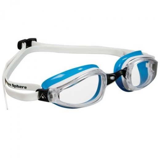 Michael Phelps K180 Clear Lens White/Baia LADIES-31
