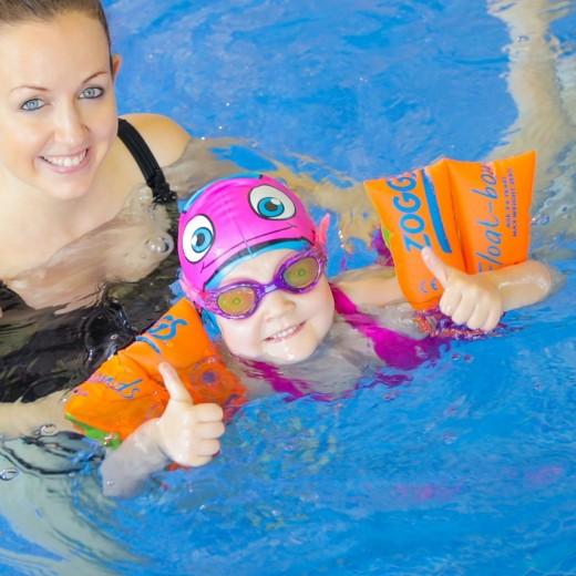 Zoggs Sea Demon Junior Svømmebrille Lilla/Pink Pige.-01