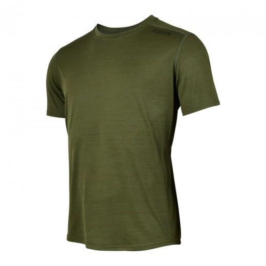 Fusion C3 T-Shirt Herre GreenMelange-31