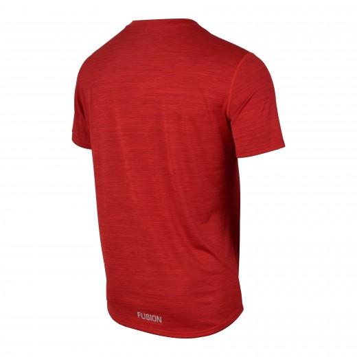 Fusion C3 T-Shirt Herre RødMelange-01