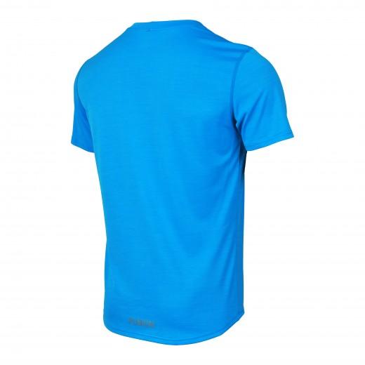 Fusion C3 T-Shirt Herre Lysblå Melange-01